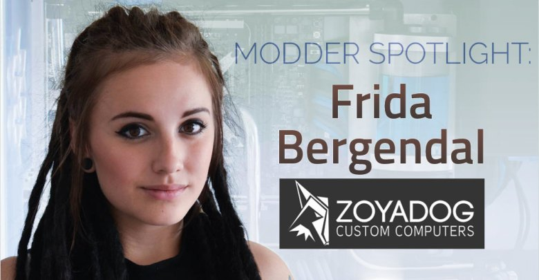 """Photo of Modder Spotlight: Frida """"Zoyadog"""" Bergendal"""