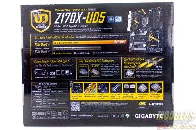 Gigabyte Z170X-UD5 Box Rear