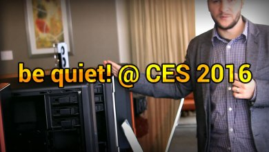 be quiet! @ CES 2016