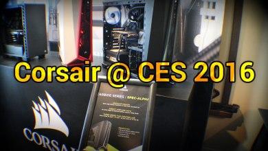 Corsair @ CES 2016