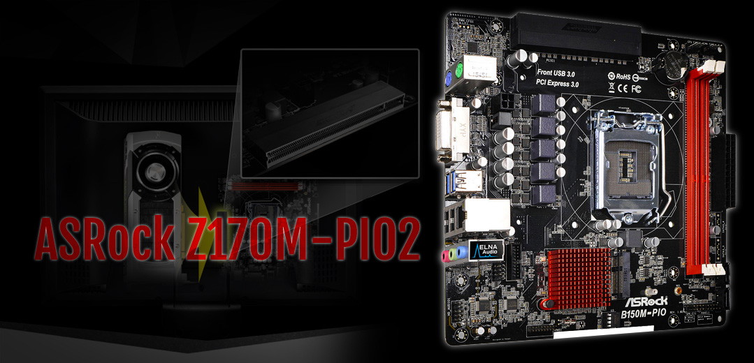 ASRock Z170M-PIO2 Intel Graphics New