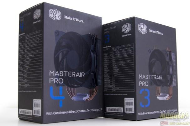 CM MasterAir Pro 3 and 4 CPU Cooler