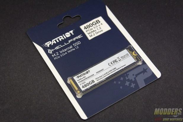 Patriot Hellfire M.2 480GB NVMe