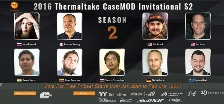 2016 Thermaltake CaseMOD Invitational