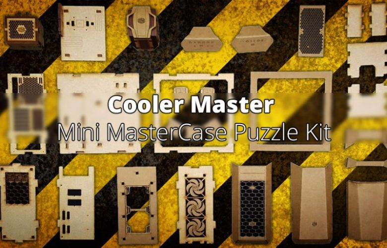 Cooler Master Mini MasterCase Wooden Puzzle Available for a Limited Time