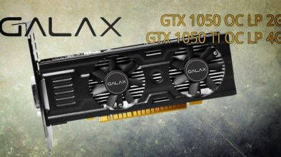 GALAX Announces Low-Profile GTX 1050 and 1050 Ti OC LP Video Cards