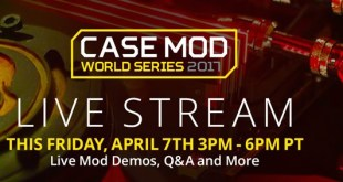 Newegg live stream modding