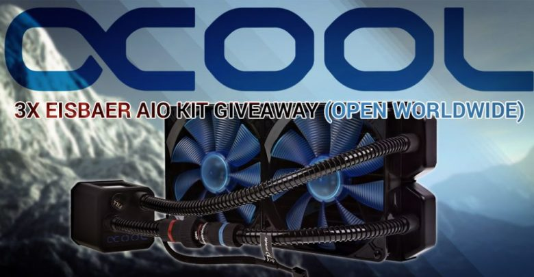 Alphacool Giveaway for April