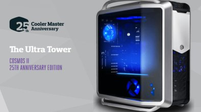 Cooler Master Relaunches COSMOS II Case In Celebration of 25th Anniversary