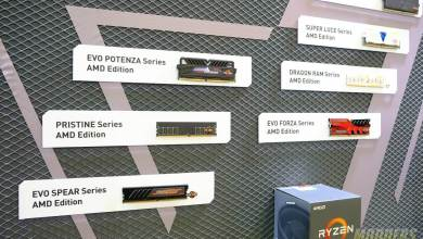 GEIL Shows Off Entire Line of Ryzen Ready DDR4 Memory @ Computex 2017