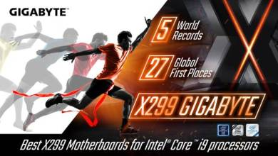 Gigabyte X299 Motherboards Now Hold 5 World OC Records