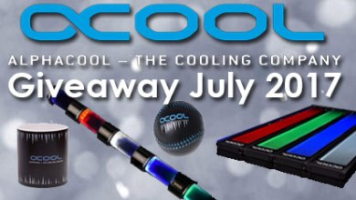 Photo of Alphacool July Giveaway 2017