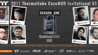 Vote Now for the Thermaltake 2017 CaseMOD Invitational Season 1