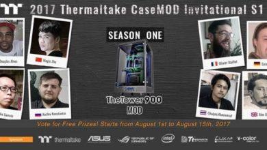 Vote Now for the Thermaltake 2017 CaseMOD Invitational Season 1