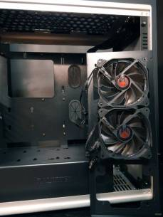 14 Front Fans removed