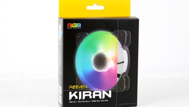 Reeven Kiran RGB High Airflow Overview