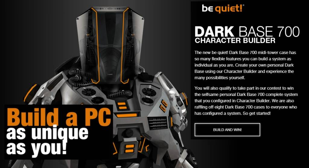 Create your own be quiet! Dark Base 700