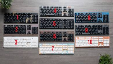 Photo of Pick Your Three Favorite Tesoro Keyboard Designs and Win it!