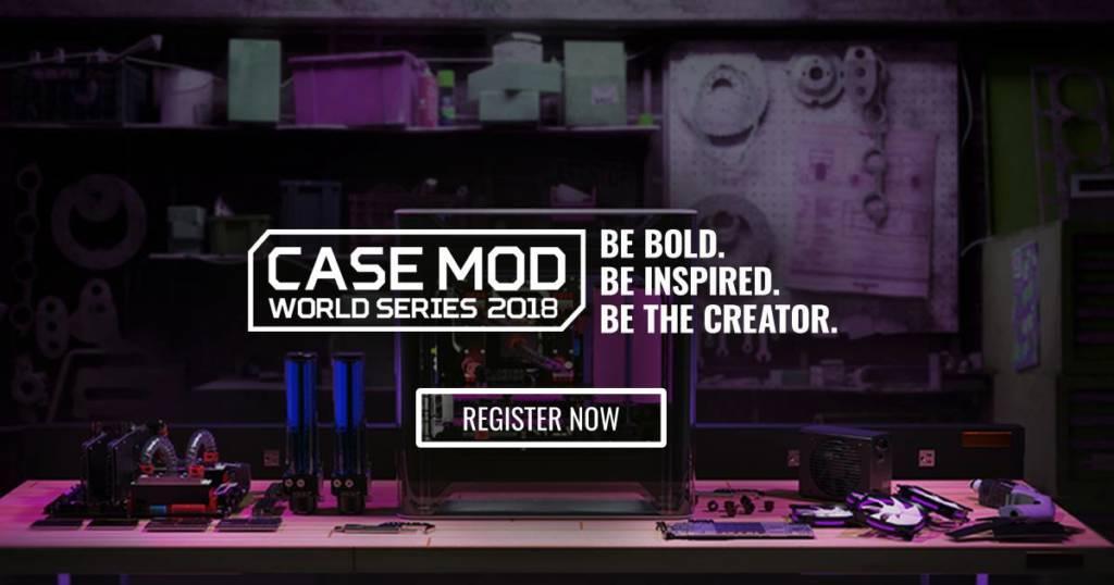 2018 Cooler Master Case Mod World Series officially begins