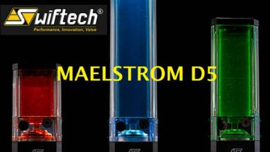 Swiftech D5-Maelstrom-sizes