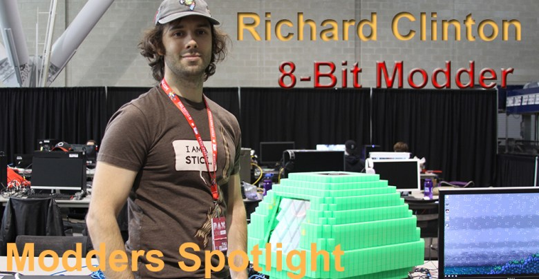 Photo of Modder Spotlight:  Richard Clinton (8-Bit Builder)