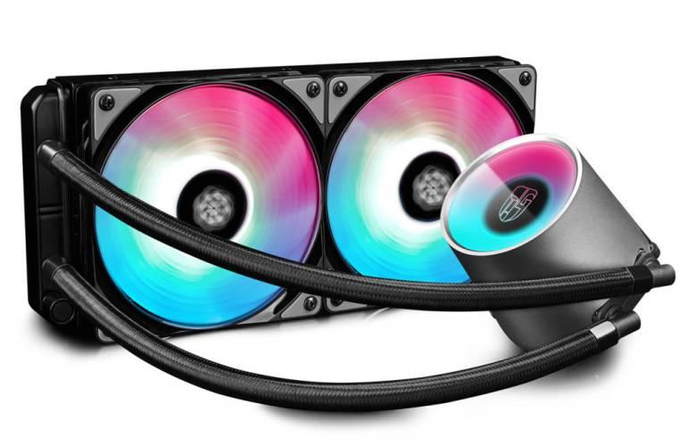 CASTLE 280RGB Liquid Cooler