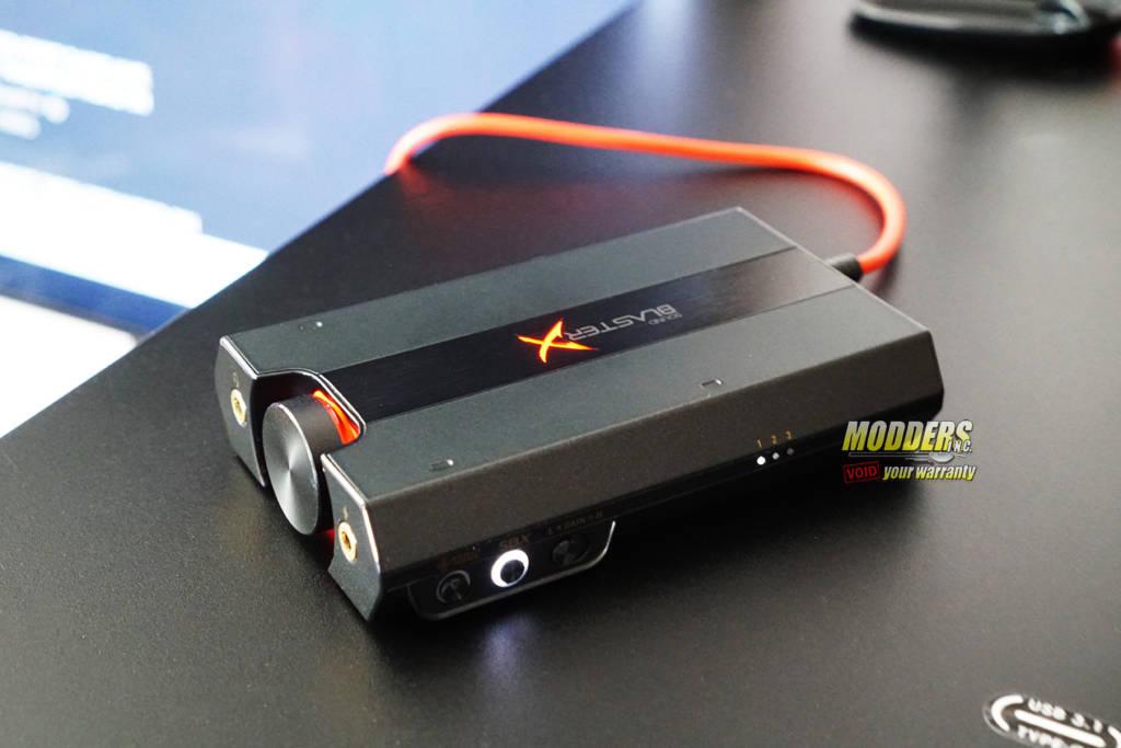 Creative Sound BlasterX G5 Portable Sound Card Review