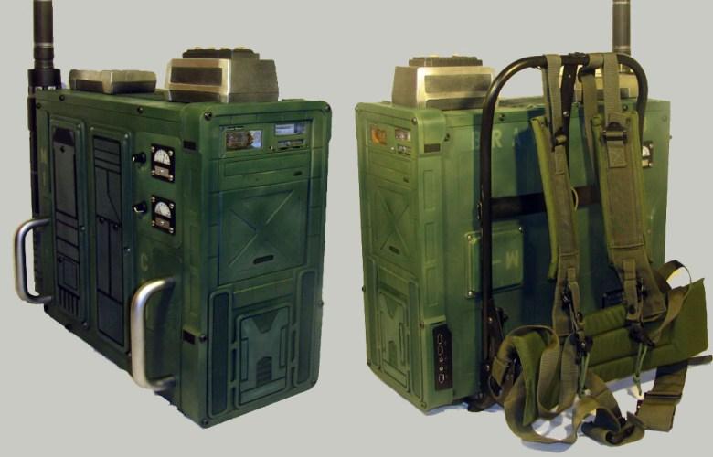 Quake Wars Radio Pack Case Mod
