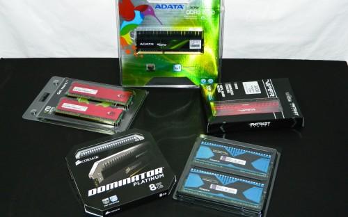 DDR3 RAM Round Up Featuring ADATA, Corsair, Kingston, Mushkin, Patriot