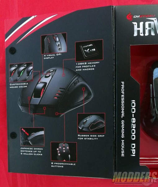 Cooler Master HAVOC Pro Gaming Mouse