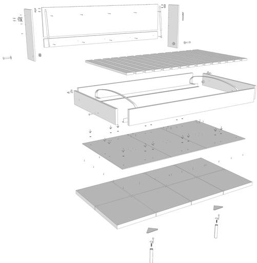 pdf plans moddi murphy bed download wood diy conservatory sad46fbb. Black Bedroom Furniture Sets. Home Design Ideas