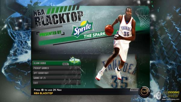 Kevin Durant Blacktop NBA 2K11
