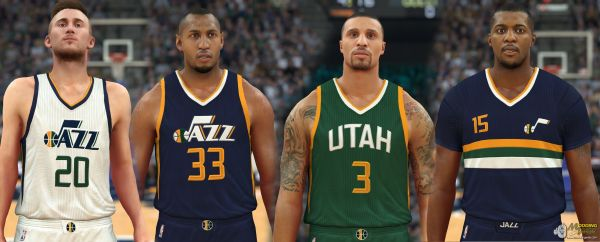 040422b2018 Nba 2k17 New Uniforms - Year of Clean Water