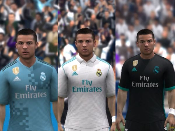 Real Madrid 17 18 Full Kits Moddingway Users Fifa 14 - Year