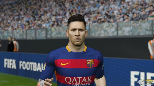 Messi Face Fifa 15 - Year of Clean Water