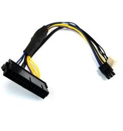 hp elitedesk 800 psu main power 24 pin to 6 pin adapter cable 30cm moddiy com [ 1000 x 1000 Pixel ]