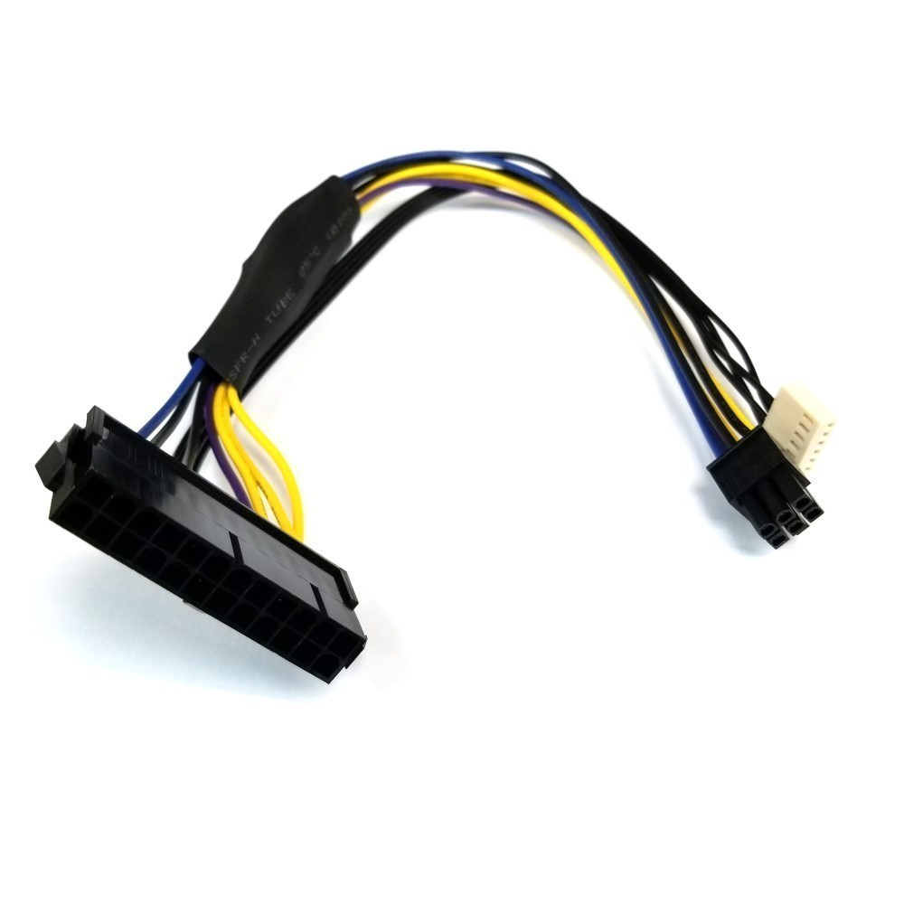 hight resolution of hp elitedesk 800 psu main power 24 pin to 6 pin adapter cable 30cm moddiy com