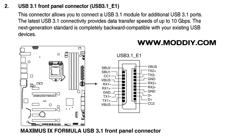 usb 3 0 cable wiring diagram 2 99 club car wire great installation of 1 connectors pinouts rh moddiy com connector pinout end chart