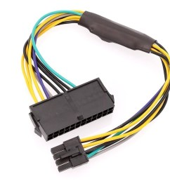 dell inspiron 3650 psu main power 24 pin to 8 pin adapter cable 8 pin trailer connector wiring 8 pin connector wiring [ 900 x 900 Pixel ]