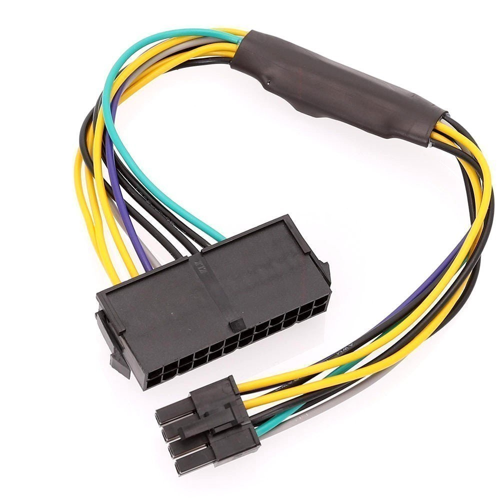 hight resolution of dell inspiron 3650 psu main power 24 pin to 8 pin adapter cable 8 pin trailer connector wiring 8 pin connector wiring