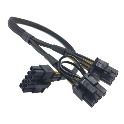 small resolution of hp server ml350 gen9 10 pin to 8 pin and 6 pin gpu pcie power cable moddiy com