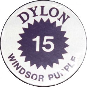 stoffenverf voor warm water - windsor purple - 15