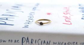 New in / Black Diamond ring