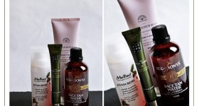 Organic skincare favorites