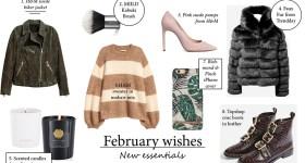 My February wishes