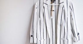 New striped blazer from Primark