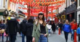 My look shot in China Town + a new video
