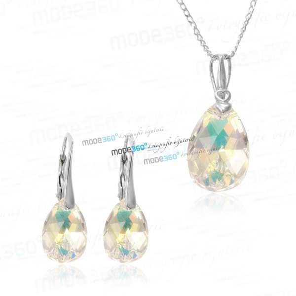 fotografie de produs studio foto bijuterii din aur sau argint cu pietre cristale swarovski