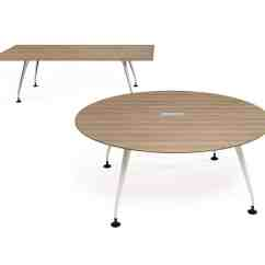 Herman Miller Chair Sizes Steel Office Price Orangebox Round Pars Meeting Table - Mode4