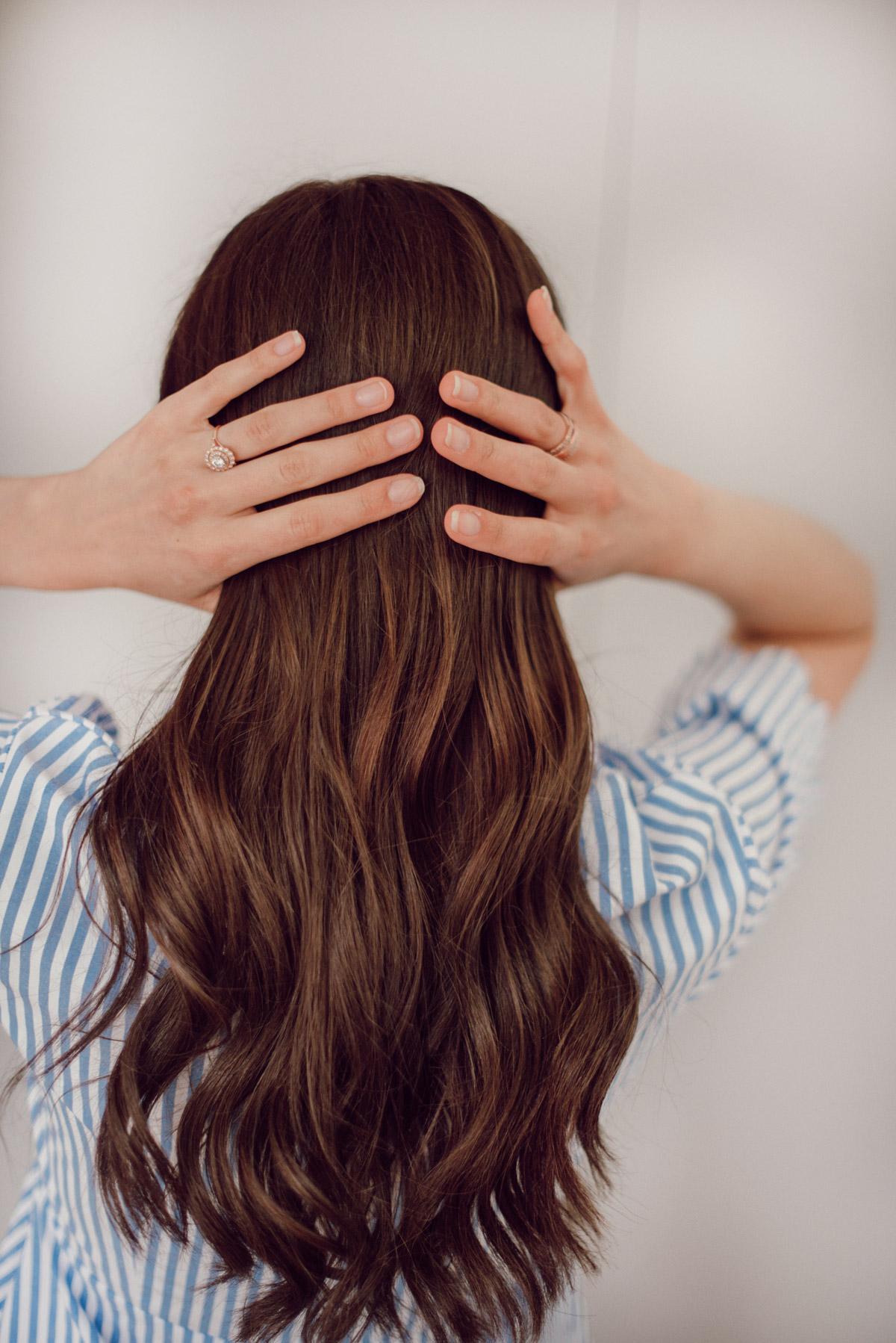mes extensions de cheveux